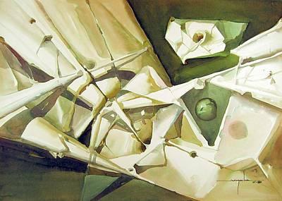 Cosmic Painting - Ws1988dc018 Sentimiento Medioval by Alfredo Da Silva