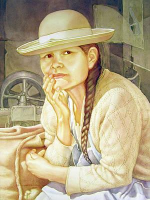 Washington D.c Painting - Ws1995dc003 Ana 15x19.75 by Alfredo Da Silva