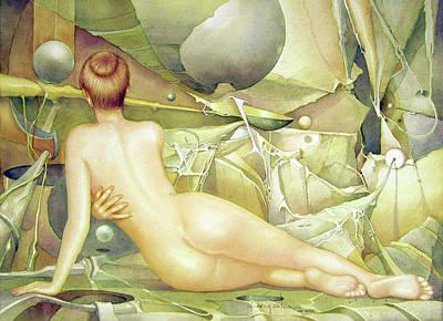 Washington D.c Painting - Ws2000dc001ar Irena Buenos Aires 20.75x14 by Alfredo Da Silva