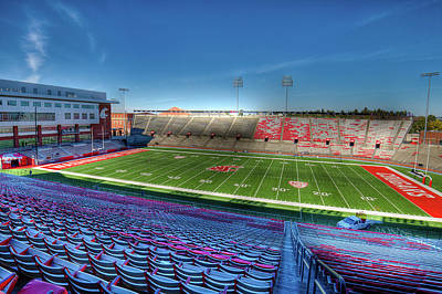 Photograph - Wsu's Martin Stadium - Pullman by David Patterson