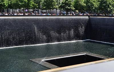 Photograph - Wtc Memorial Pool by Eileen Brymer