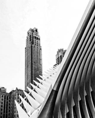 Photograph - Wtc Path Station by Alan Raasch