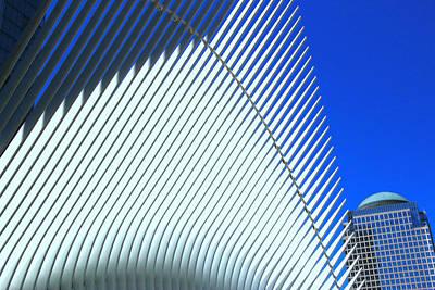 Photograph - W T C Transportation Hub Oculus Exterior  # 11 by Allen Beatty