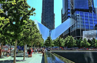Photograph - Wtc Transportation Hub Oculus Exterior  # 17 by Allen Beatty