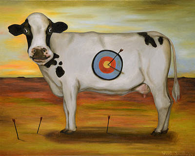 West Texas Painting - Wtf 3 by Leah Saulnier The Painting Maniac
