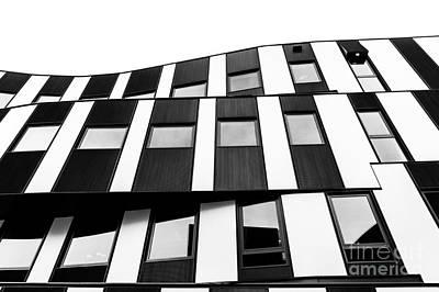 Photograph - Wu Campus Vienna Hitoshi Abe Facade 1 by Menega Sabidussi