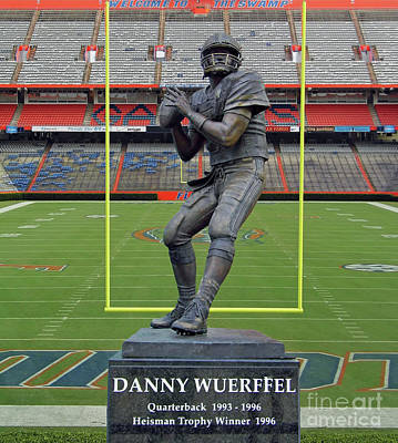 Photograph - Wuerffel In The Swamp by D Hackett