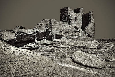 Photograph - Wukoki Pueblo At Waputki National Monument by Roger Passman