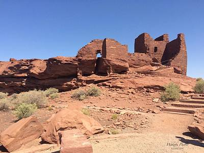 Photograph - Wukoki Pueblo by Lorna Maza