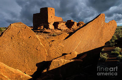 Photograph - Wukoki Ruin Arizona by Bob Christopher