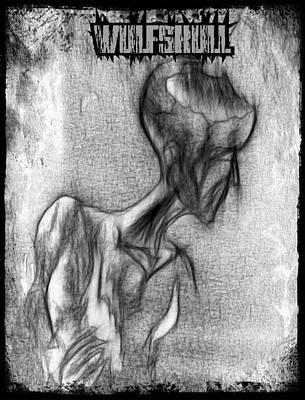 Wulfskull#3 Art Print