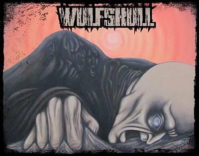 Wulfskull#4 Art Print