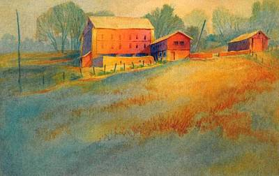 Pennsylvania Farm Painting - Wynnorr Farm by Virgil Carter