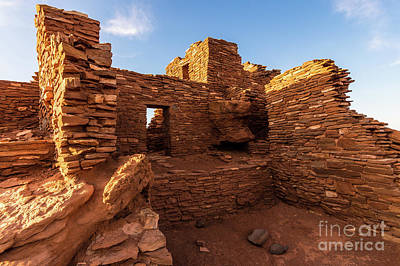 Photograph - Wupatki National Monument Indian Ruin - Arizona by Gary Whitton