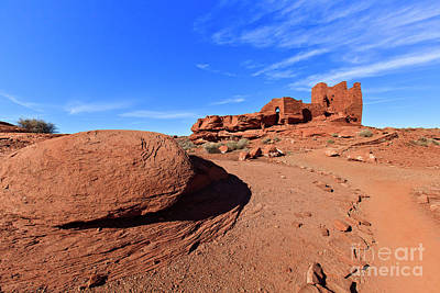 Photograph - Wupatki Pueblo Ruins Arizona by Ben Graham