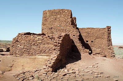 Photograph - Wupatki Ruins No. 1 by David Gordon
