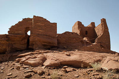 Photograph - Wupatki Ruins No. 3 by David Gordon