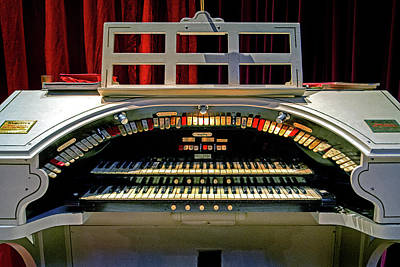 Photograph - Wurlitzer Hope-jones Unit Orchestra Theater Organ by Bill Swartwout Photography