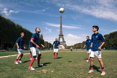 Football Warm Ups Photograph - Wurm Ap by Mauricio Bustamante