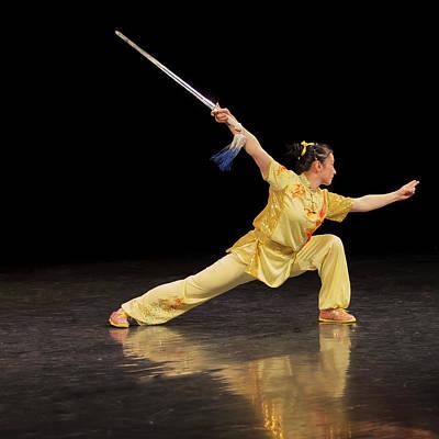 Photograph - Wushu by Stan Kwong