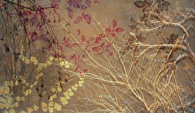 Digital Art - Wuthering Heights Late Autumn by Nancy Lorene