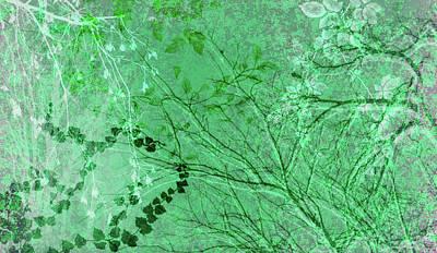 Digital Art - Wuthering Heights Mint Julep by Nancy Lorene