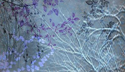Digital Art - Wuthering Heights Sweet Blues by Nancy Lorene