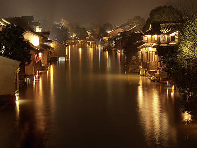 Scenery Photograph - Wuzhen - Venice Of The Far East by Andrew Soundarajan