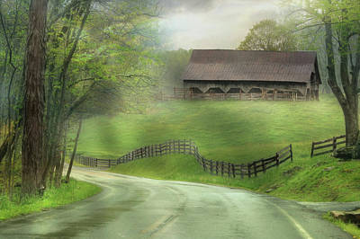 Photograph - Wv Country Road by Lori Deiter