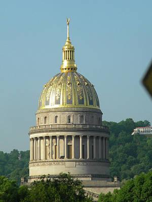 Wv State Capital Building  Art Print