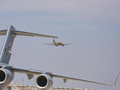 Photograph - Ww II Cargo Plane  by Charles McKelroy