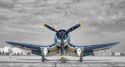 Ww II Fighter Plane 2 Art Print