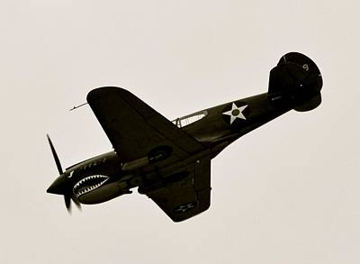 Photograph - Ww II Flying Tiger Airplane  by Amy McDaniel