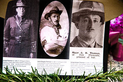 Keith Richards - WW1 Australian Soldiers by Miroslava Jurcik