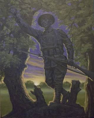 World War 1 Doughboy  Original
