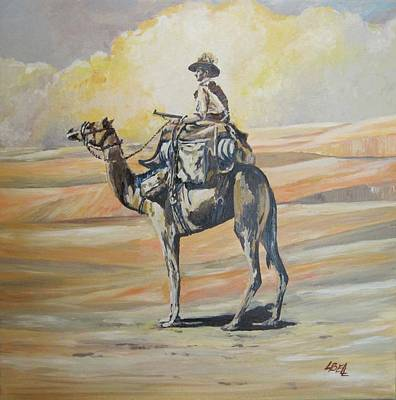 Ww1 Light Horse Cameleer Original by Leonie Bell