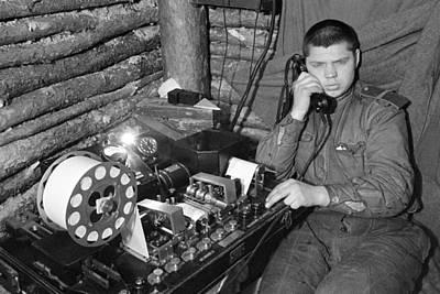 Ww2 Artillery Detection Equipment, 1944 Print by Ria Novosti