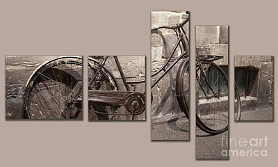 Photograph - Ww2 Bicycle by Cecil Fuselier