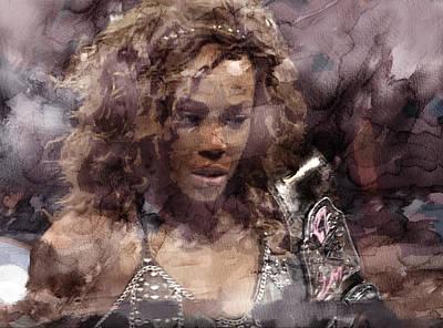 Evansville Painting - Wwe Wrestling 231 by Jani Heinonen
