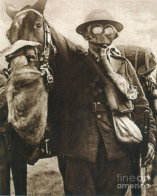 Photograph - Wwi: Gas Warfare by Granger