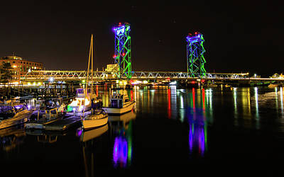Photograph - Wwi Memorial Bridge Blue-green by Tim Kirchoff