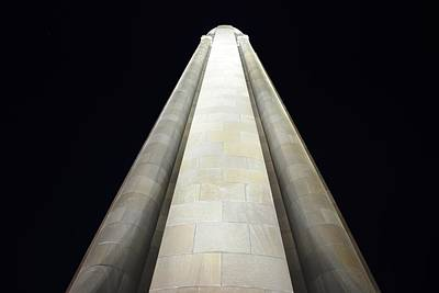Photograph - Wwi Memorial - Kansas City At Night by Matt Harang