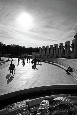 Photograph - Wwii Memorial by David Sutton