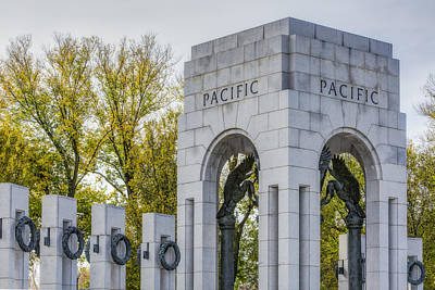 Photograph - Wwii Paciific Memorial by Susan Candelario
