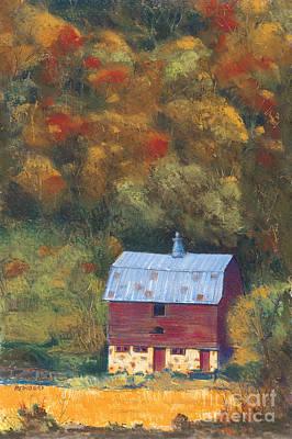 Wyalusing Painting - Wyalusing Barn by Richard Reinders
