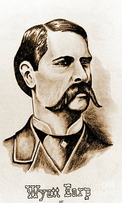 Photograph - Wyatt Earp by Gary Wonning