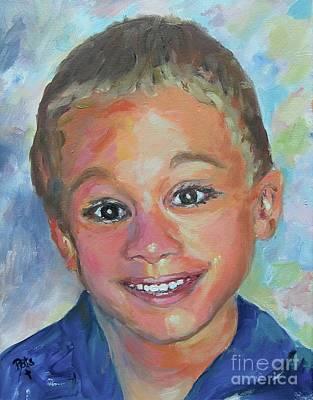 Painting - Wyatt by Patsy Walton
