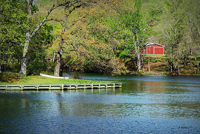 Photograph - Wye Mills Lake by Brian Wallace