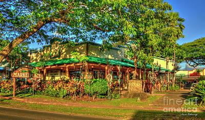 Photograph - Wyland Galleries Haleiwa North Shore Oahu Hawaii Art by Reid Callaway