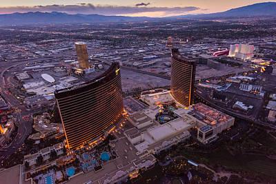 Wynn Aloft Las Vegas N V Art Print by Steve Gadomski